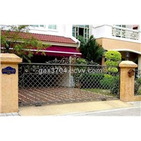 wrought iron sliding garden gate HT-G1003