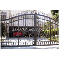 Community wrought iron entry gate HT-G1001
