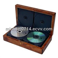 Delicate Wooden Gift CD/DVD box Case