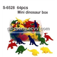 Dinosaur Toy, Educational Toy, Mini Dinosaur Box, Counting Toy
