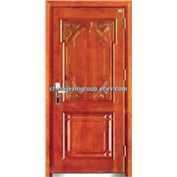 Fire Rated Steel Wooden Armored Security Doors (A231)