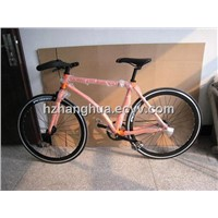 HH-FG1145 colorful fixed gear bike with CNC rim
