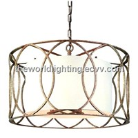 PLMD5002- Modern Iron Lanten Pendant Light
