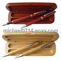 Solid Wooden Pen gift holder
