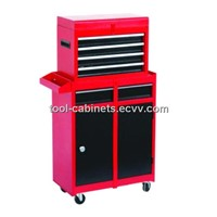 Top Tool Chest & Roller Tool Cabinet with 5 Drawers