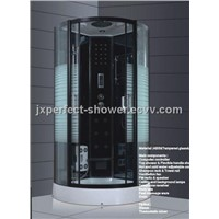 100x100cm computer controller shower cabin with steam(ZY-137)