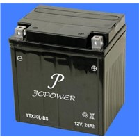 12V28AH SMF Motorcycle Battery