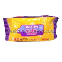 2012 Spunlace non-woven baby wipes