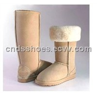 2012 new fashion adult sheepskin boots