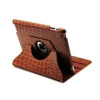 360degree rotatable leather cases for ipad2,the new ipad,tablet pc cases,ipad cases