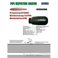 512Hz Transmitter for pipe inspection