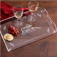 Acrylic Hotel and Restaurant Food Service Tray
