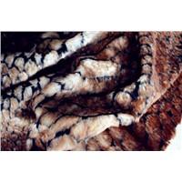 Bonding fake fur