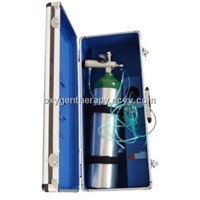 Box-type Medical Oxygen kit/Unit W/ Portable Aluminum O2 Cylinder