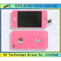 Cell phone LCD assembly cell phone parts for iphone 4