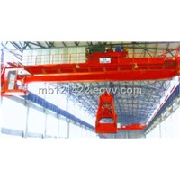 Double Girder Electric Grab Bucket Crane Lifting Eot Cranes