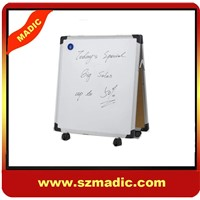 Double-sided white board