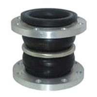 Flexing double balls rubber joint-JGD-A1