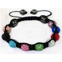 High Quality Shamballa Clay Disco Ball (MJ012)