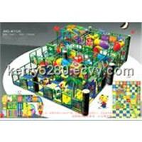 Indoor playground, children castle, children indoor toys JMQ-K112A