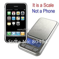 LCD Iphone Design Mini Weight Pocket Scale