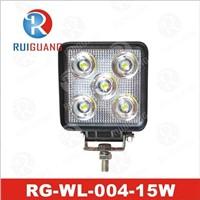 15W IP67 LED Work Light, ATV UTV Light (RG-WL-004) with CE