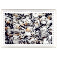 Nice artificial fur fabric