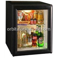 ORBITA Absorption Hotel Mini Bar Fridge-Glass Door