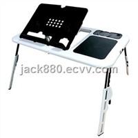 Portable Folding Laptop Desk with Cooler Fan