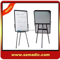 Revolving magnetic white board