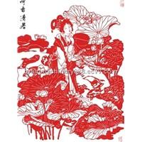 Rich Ethnic Characteristics China Paper Cutting Art