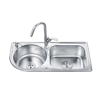 Round and Rectangular kitchen sink