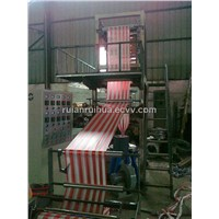 Double Color Striped Film Blowing Machine SJ-RH