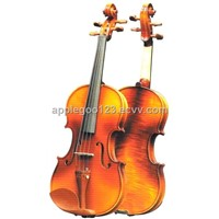 Spruce Violin with Case,Strap,Rosin-GK003A
