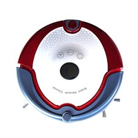 Two side brush cleaning robot with voice prompt