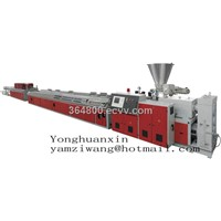 Wood Plastic Plates Production Line