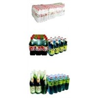 bottles shrinking wrapping machine