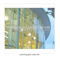 full glass curtain wall / point-fixing glass curtain wall