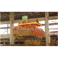 girder crane with grag
