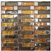 Gold Foil Mosaic-Tile