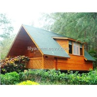 holiday wooden house