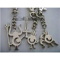 key chain key ring key holder PVC keychain