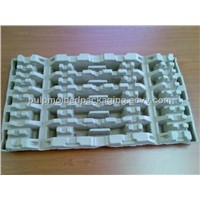 moulded pulp LED protection/packaging
