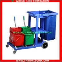 multi-function housekeeping cleaning cart