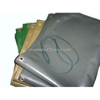polyester fabric/pvc tarpaulin/tent fabric/pvc coated laminated fabric