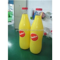 PVC Inflatable Bottle / Inflatable Promotional Bottle