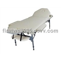 salon furniture, alu massage table, beauty bed