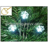snowflake UL LED decoration string light