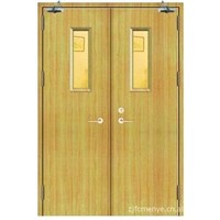 supply wooden fire proof door