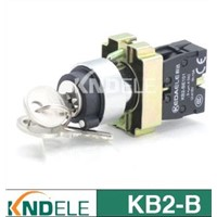 waterproof rotary switch,2 or 3 position selector key switch B2-BG.